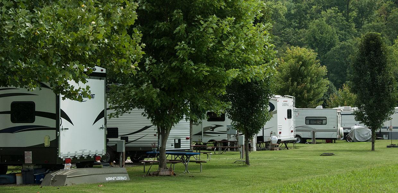 A Smokey Mountain Campground Near Bryson City Nc