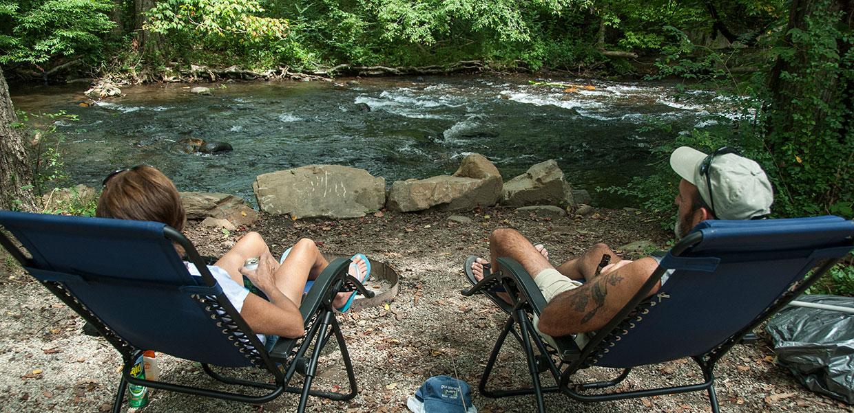 Camping In The North Carolina ...