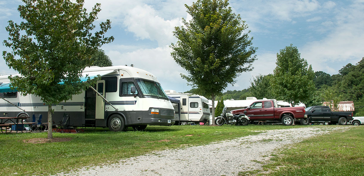 Smoky Mountain Family Campground With Tent Camping Rv